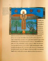 The Philemon page from Jung's 'Red Book'