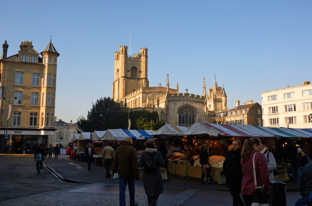 Small Cambridge Market square